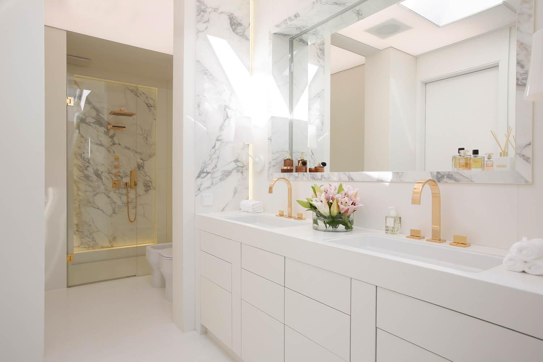 kosztowna łazienka w prestiżowym wnętrzu